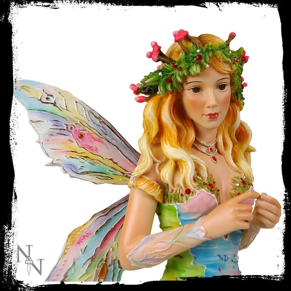 Forest Faerie Poppets Figurine Limited Edition Crysalis Collection Fairy Christine Haworth - Baby Feathers Gift Shop - 2
