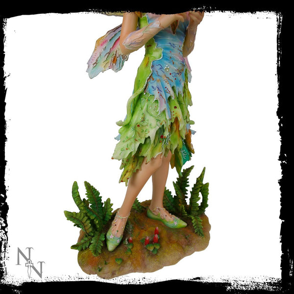 Forest Faerie Poppets Figurine Limited Edition Crysalis Collection Fairy Christine Haworth - Baby Feathers Gift Shop - 3