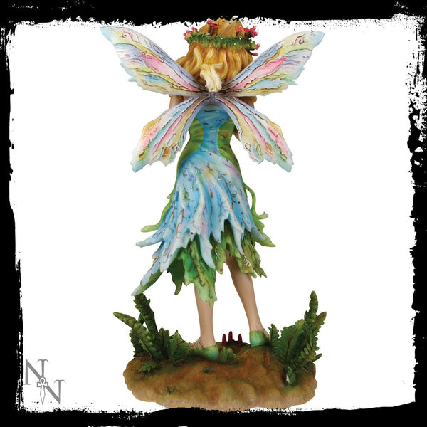 Forest Faerie Poppets Figurine Limited Edition Crysalis Collection Fairy Christine Haworth - Baby Feathers Gift Shop - 4