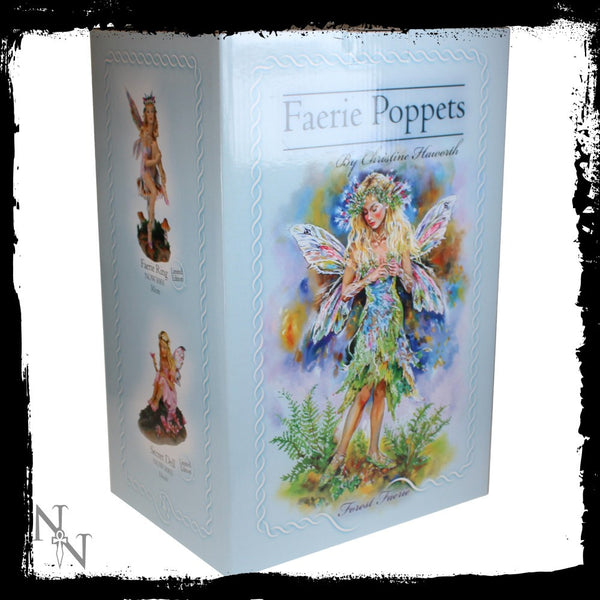 Forest Faerie Poppets Figurine Limited Edition Crysalis Collection Fairy Christine Haworth - Baby Feathers Gift Shop - 6