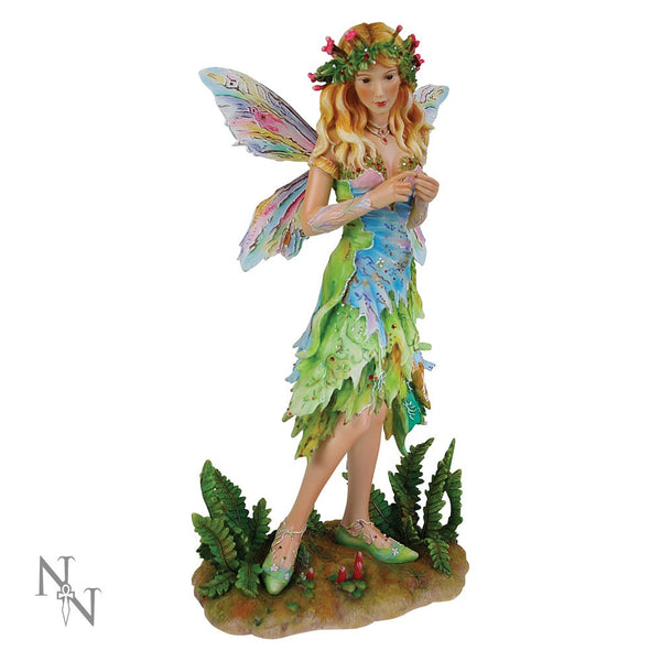 Forest Faerie Poppets Figurine Limited Edition Crysalis Collection Fairy Christine Haworth - Baby Feathers Gift Shop - 1