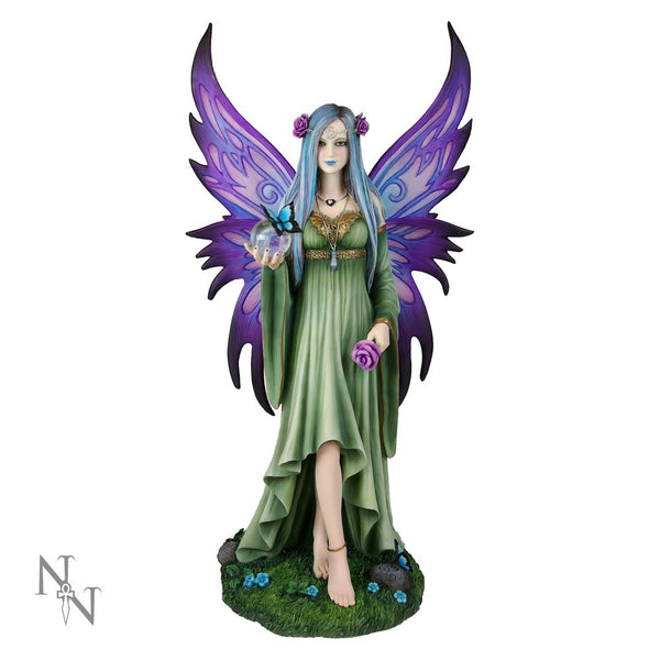 Anne Stokes Mystic Aura Limited Edition Fairy Figurine 39 cm - Baby Feathers Gift Shop - 1