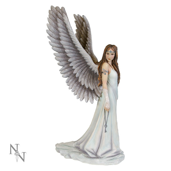 Anne Stokes Spirit Guide Angel Limited Edition Fairy Figurine 43cm - Baby Feathers Gift Shop