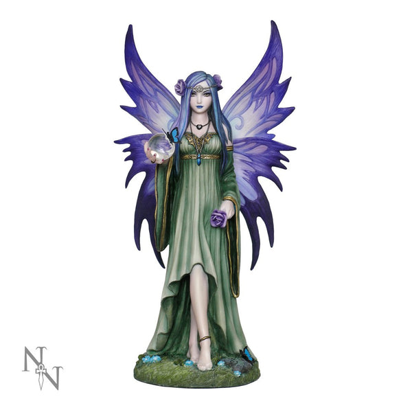 Anne Stokes Mystic Aura Fairy Figurine 23 cm - Baby Feathers Gift Shop