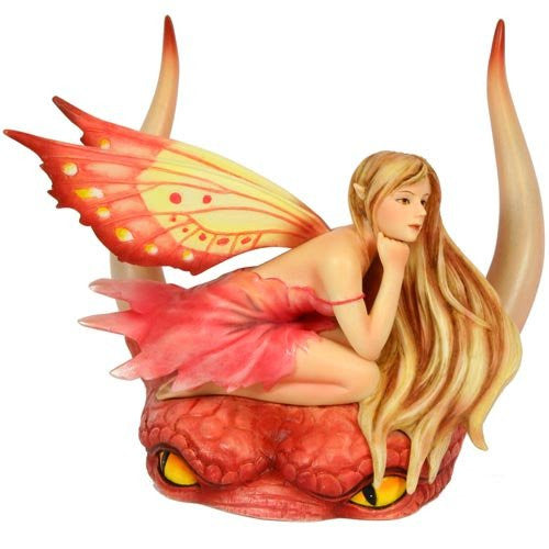 Dragon Fae Pink Fairy Figurine by Selina Fenech - Baby Feathers Gift Shop