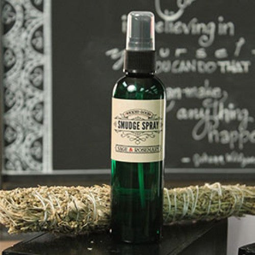 Sage & Rosemary: Wicked Good Smudge Spray - Baby Feathers Gift Shop