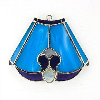 Tiffany Lamp Shade Stained Glass Switchables Nightlight Cover; Ornament: Suncatcher