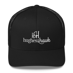 hughes and Hawk classic trucker Cap