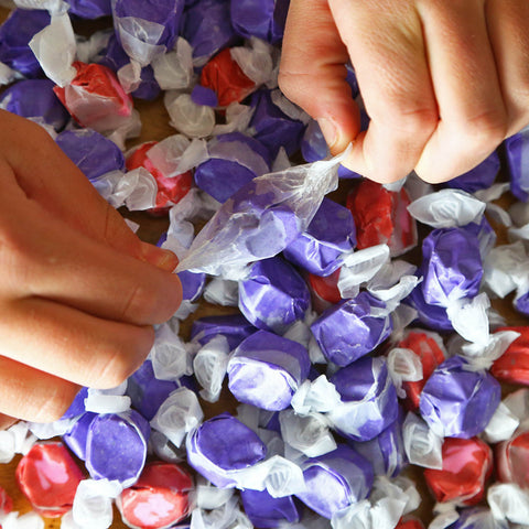 Huckleberry Taffy