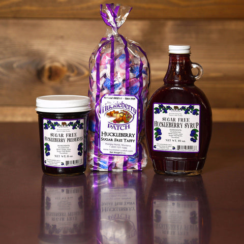 Sugar-free Huckleberry Products