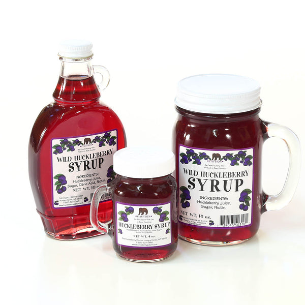 Huckleberry Syrup