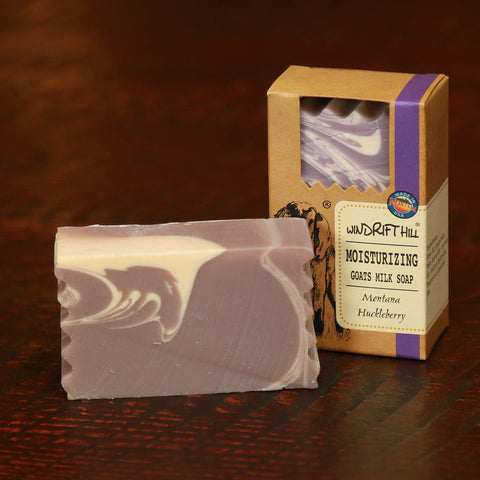 Huckleberry Goats Milk Soap