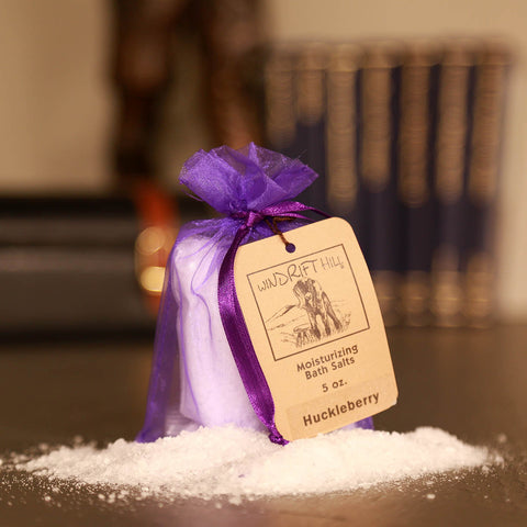 Huckleberry Bath Salts Sachet