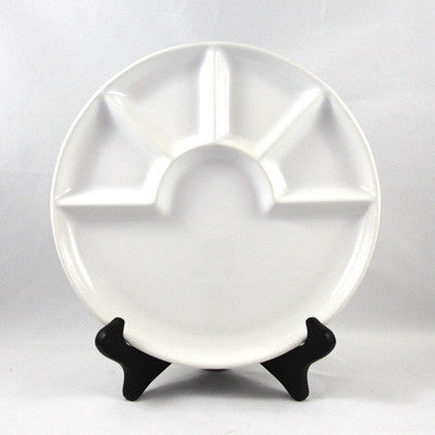 6pc White Fondue Dish Set - Pot Shop of Boston