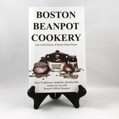 Hard Cover Bean Pot Cookbook - Pot Shop of Boston
