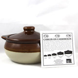 2 Quart Casserole - Pot Shop of Boston