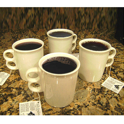 Porcelain Trigger Mugs - Set of 4 - Pot Shop of Boston