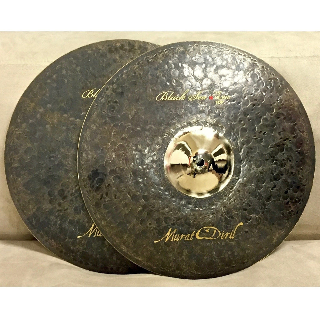 "Murat Diril Black se Golden bell 15"" Hi- Hats Canada BL-GB4015"