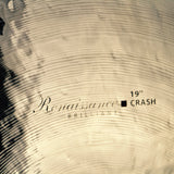 "Renaissance Brilliant - 19"" Crash Cymbal (RB2019)"