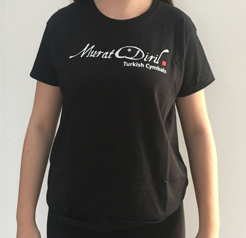 Women's T-Shirt Black - Small (TSBLWS)