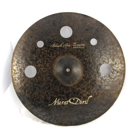 "Murat Diril Black sea 19"" Crash/Trash Cymbal Canada RX2019FX"
