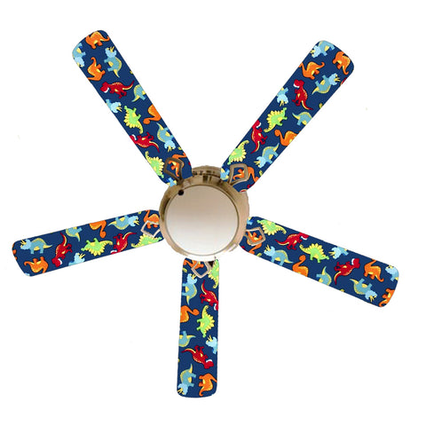 "Dinosaur Delight 52"" Ceiling Fan with Lamp"