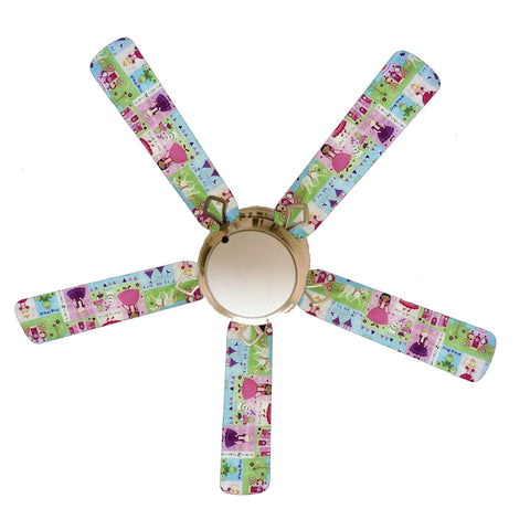 "Princess Kingdom 52"" Ceiling Fan with Lamp"