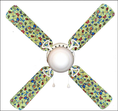 "Bug Bonanza Bugs 42"" Ceiling Fan and Lamp"