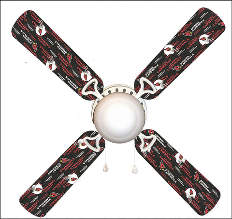 "Arizona Cardinals 42"" Ceiling Fan and Lamp"