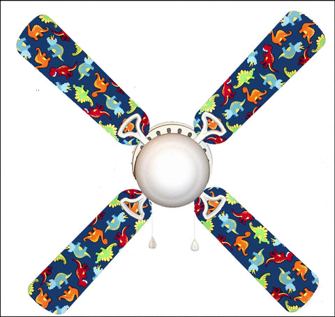 "Dinosaur Delight 42"" Ceiling Fan and Lamp"