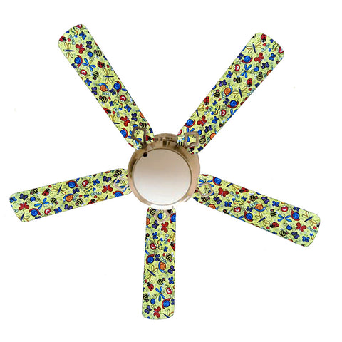 "Bug Bonanza Bugs 52"" Ceiling Fan with Lamp"