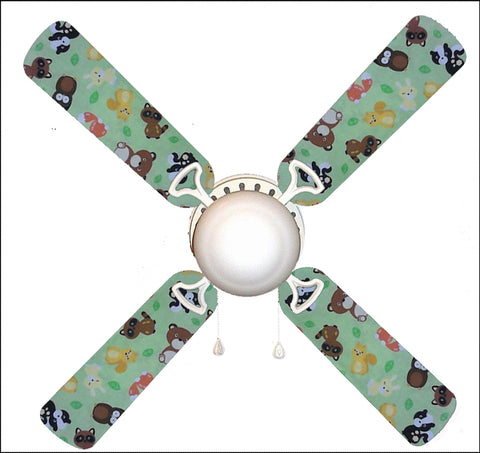 "Forest Friends 42"" Ceiling Fan and Lamp"