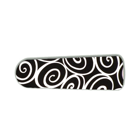 "Designer Black and White Swirls 42"" Ceiling Fan BLADES ONLY"