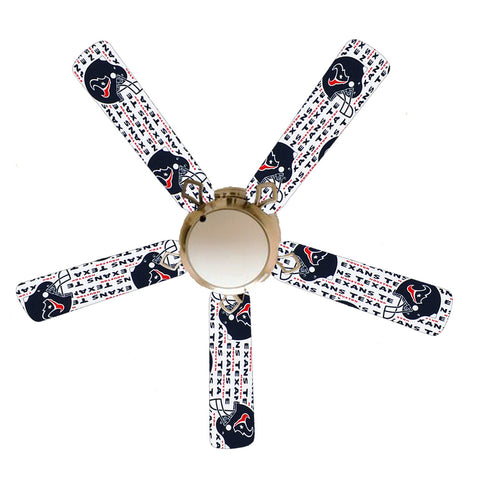 "Houston Texans 52"" Ceiling Fan with Lamp"