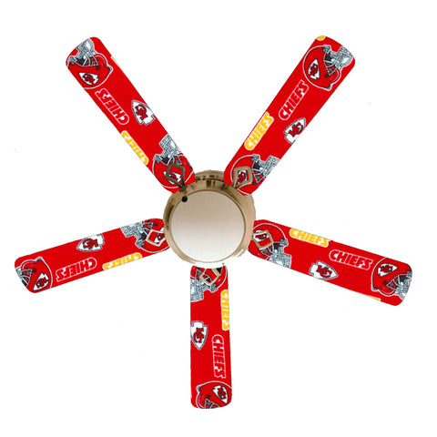 "Kansas City Chiefs 52"" Ceiling Fan with Lamp"