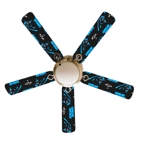 "Carolina Panthers 52"" Ceiling Fan with Lamp"