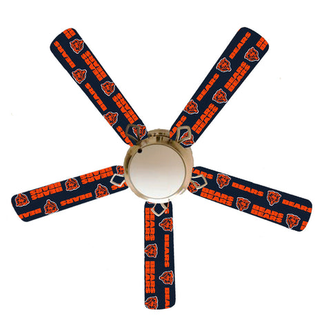 "Chicago Bears 52"" Ceiling Fan with Lamp"