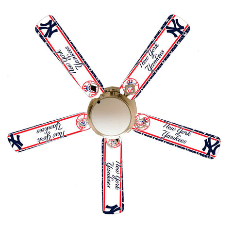 "New York Yankees 52"" Ceiling Fan with Lamp"