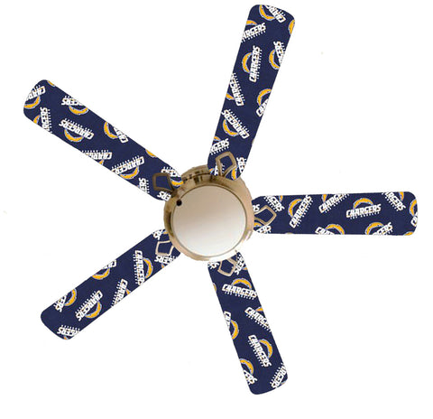 "Los Angeles Chargers 52"" Ceiling Fan with Lamp"