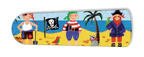 "Little Boys Pirate Island 52"" Ceiling Fan BLADES ONLY"