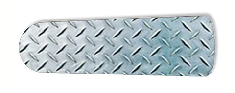 "Diamond Plate Garage Shop Den 52"" Ceiling Fan BLADES ONLY"