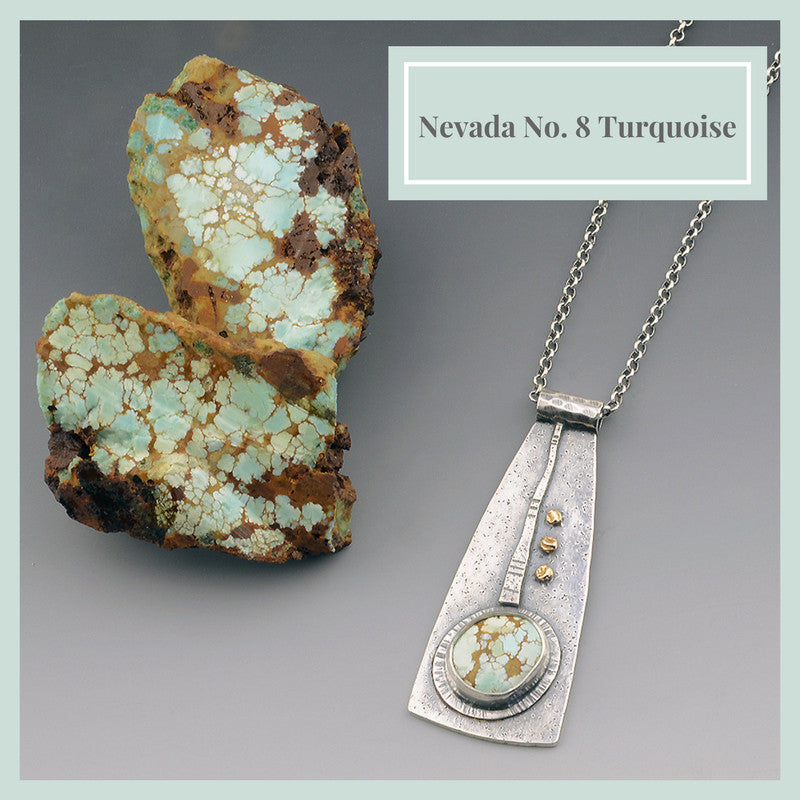Origins Nevada No. 8 Turquoise Necklace