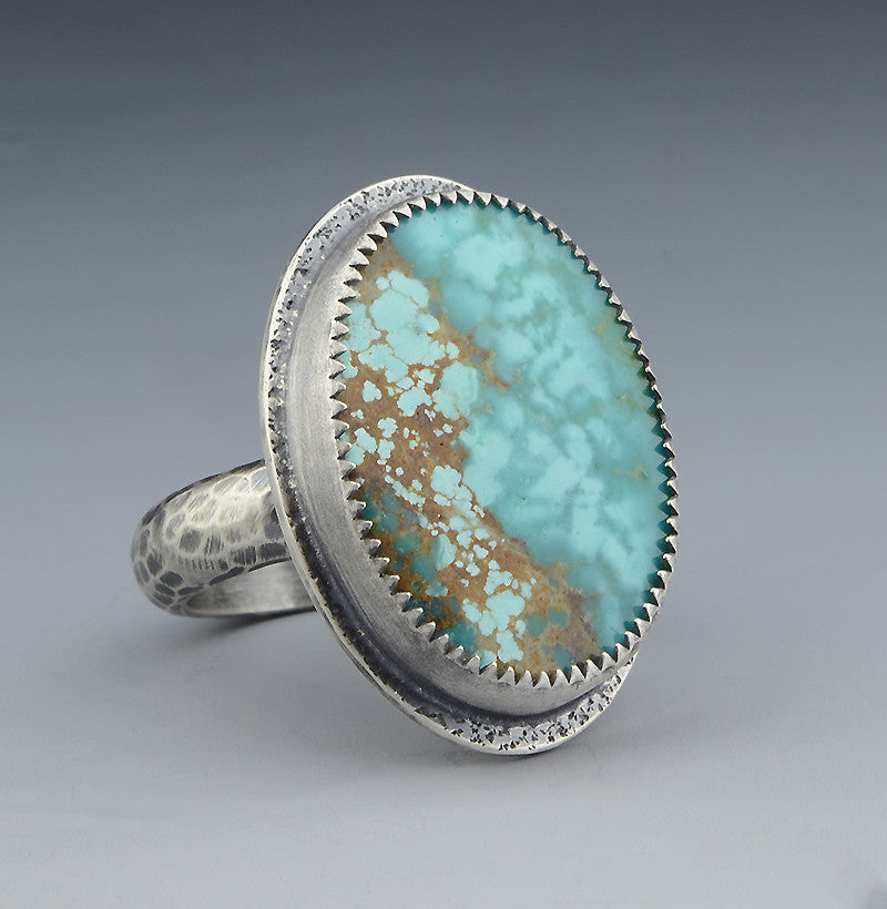 Turquoise Ring Nevada No. 8 - Size 8