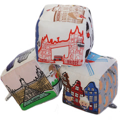 Euro Pack (London + Paris + Amsterdam) - Globe Totters - 2