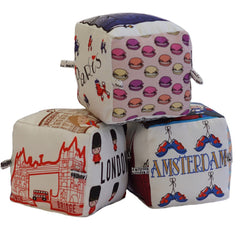 Euro Pack (London + Paris + Amsterdam) - Globe Totters - 1
