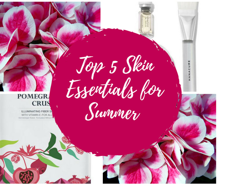 Top 5 Summer Skin Essentials for the Busy Muslimah