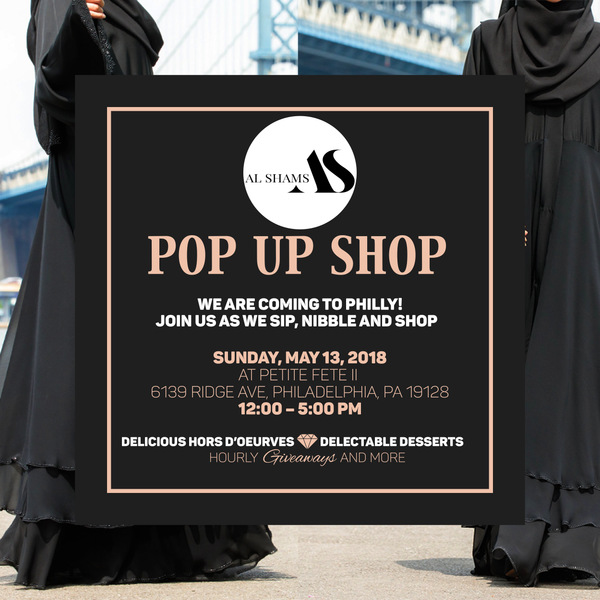 Philly Pop Up - Al Shams Abayas