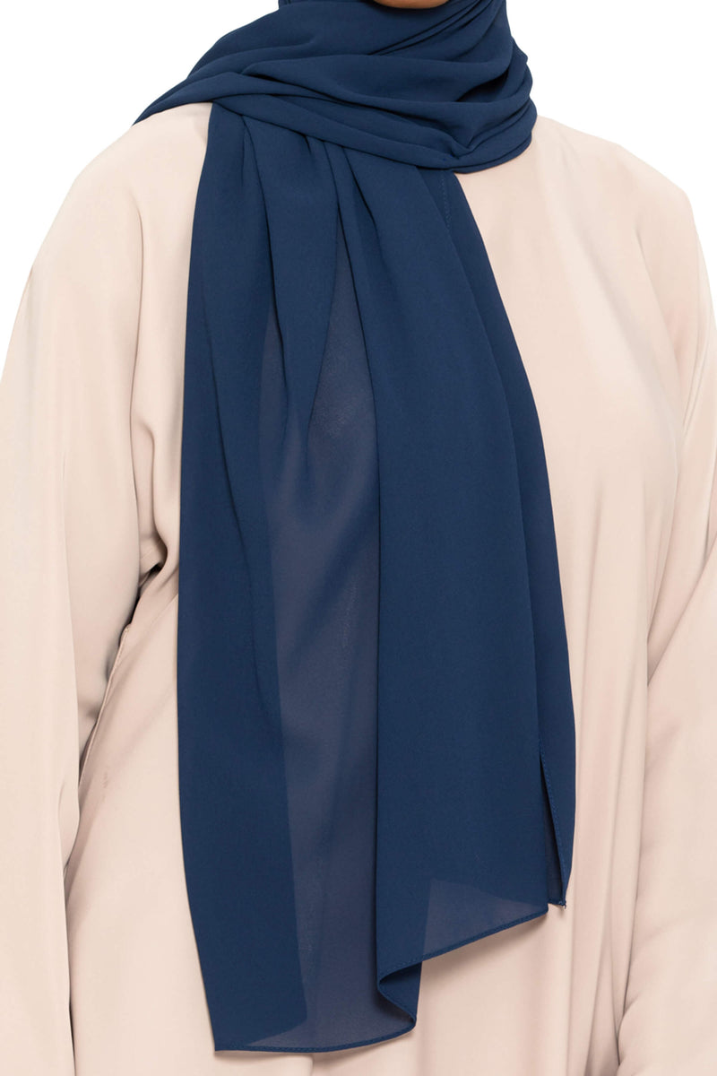 Essential Hijab - Navy