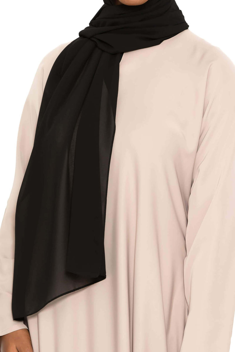 Essential Hijab -  Black