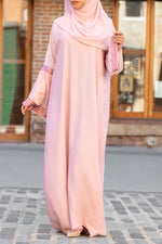 Afifah Abaya in Blush | Al Shams Abayas 2